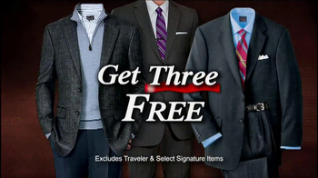 JoS. A. Bank TV Spot, 'Buy One, Get Three Free: Suits and Sports Coats' - Thumbnail 1