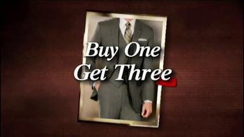 JoS. A. Bank TV Spot, 'Buy One, Get Three Free: Suits and Sports Coats' - Thumbnail 3