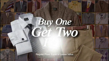 JoS. A. Bank TV Spot, 'Buy One, Get Three Free: Suits and Sports Coats' - Thumbnail 6
