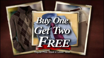 JoS. A. Bank TV Spot, 'Buy One, Get Three Free: Suits and Sports Coats' - Thumbnail 8