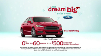 Ford Dream Big Sales Event TV Spot, 'Santa' - Thumbnail 10