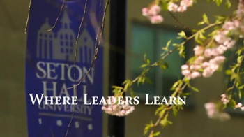 Seton Hall University TV Spot, 'Where Leaders Learn' - Thumbnail 3