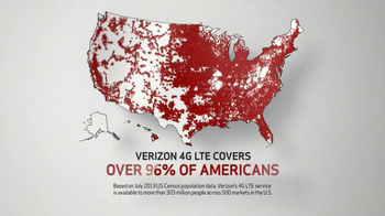 Verizon TV Spot, 'Holiday Coverage Map' - 1065 commercial airings
