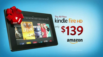 Amazon Kindle Fire HD TV Spot, 'Holiday Gifts'