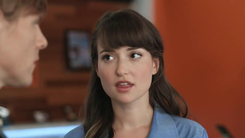 at t dating commercial girl As the girl behind lily from the at&t ads, milana vayntrub is your biggest commercial crush of the year.
