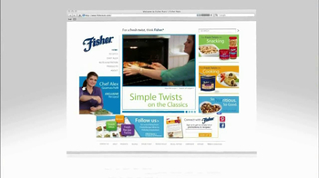 Fisher Nuts Pecan Halves TV Spot - Thumbnail 8
