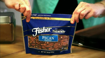 Fisher Nuts Pecan Halves TV Spot