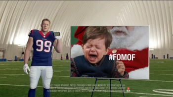 Verizon NFL Mobile TV Spot, '#FOMOF: Santa Claus' - Thumbnail 8