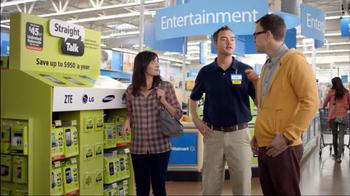 Walmart TV Spot, 'Straight Talk Wireless Savings'