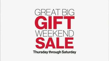 Kohl's Great Big Gift Weekend Sale TV Spot