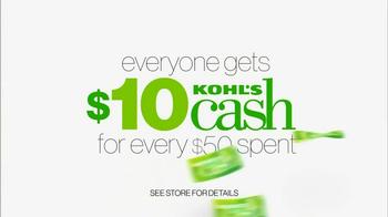 Kohl's Great Big Gift Weekend Sale TV Spot - Thumbnail 9