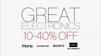 Kohl's Great Big Gift Weekend Sale TV Spot - Thumbnail 4