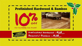 Lumber Liquidators Holiday Coupons Flooring Sale TV Spot - Thumbnail 3