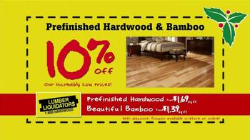 Lumber Liquidators Holiday Coupons Flooring Sale TV Spot - Thumbnail 4