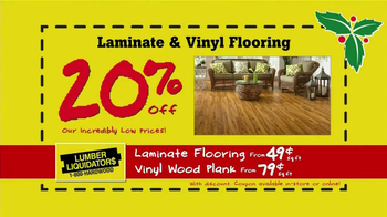 Lumber Liquidators Holiday Coupons Flooring Sale TV Spot - Thumbnail 5