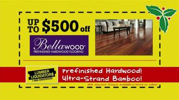 Lumber Liquidators Holiday Coupons Flooring Sale TV Spot - Thumbnail 6