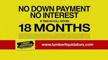 Lumber Liquidators Holiday Coupons Flooring Sale TV Spot - Thumbnail 7