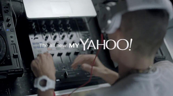 My Yahoo TV Spot, 'My Mix' Featuring DJ Clinton Sparks