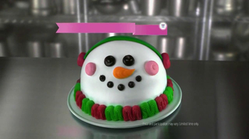 Baskin-Robbins Snow Man Cake TV Spot - Thumbnail 10