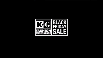 K&G Fashion Superstore Black Friday Sale TV Spot