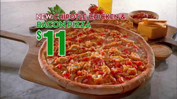 Papa John's Chipotle Chicken & Bacon Pizza TV Spot - Thumbnail 7