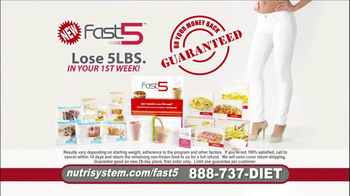 Nutrisystem Fast 5 TV Spot, 'Michelle' - Thumbnail 9