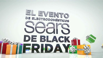 El Evento de Electrodomésticos Sears de Black Friday TV Spot [Spanish] - Thumbnail 1
