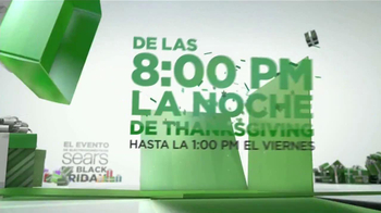 El Evento de Electrodomésticos Sears de Black Friday TV Spot [Spanish] - Thumbnail 2