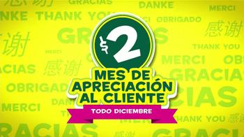 Subway Mes de Apreciación al Cliente TV Spot [Spanish] - Thumbnail 1