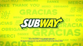Subway Mes de Apreciación al Cliente TV Spot [Spanish] - Thumbnail 2