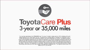 Toyota Toyotathon Toyota Care TV Spot - Thumbnail 7