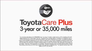 Toyota Toyotathon Toyota Care TV Spot - Thumbnail 6