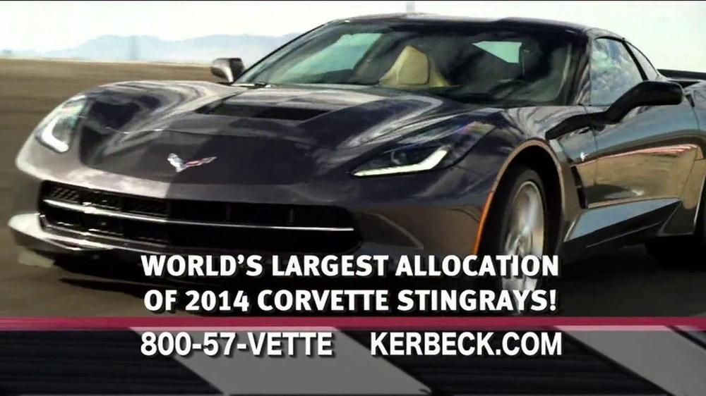 2014 Corvette Stingray TV Commercial, 'Largest Selection'