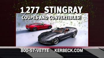 2014 Corvette Stingray TV Spot, 'Largest Selection' - Thumbnail 4