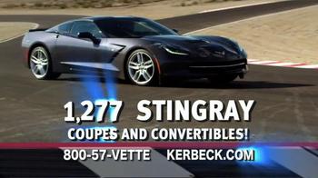 2014 Corvette Stingray TV Spot, 'Largest Selection' - Thumbnail 8