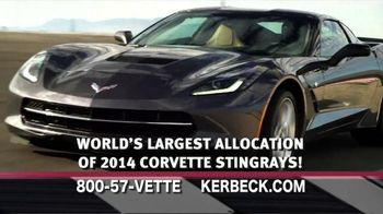 2014 Corvette Stingray TV Spot, 'Largest Selection'