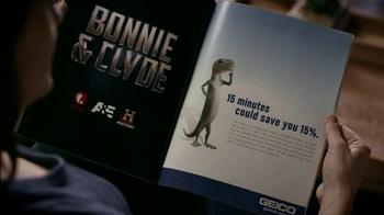 Geico TV Spot, 'Bonnie & Clyde' - Thumbnail 2