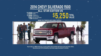 2014 Chevrolet Silverado 1500 TV Spot, 'Santa Salesman' - Thumbnail 8