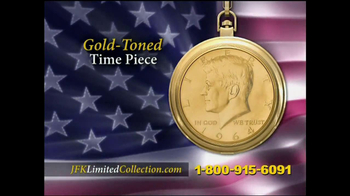John F. Kennedy Commemorative Watch TV Spot - 3 commercial airings