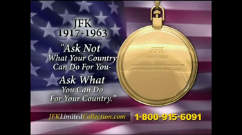John F. Kennedy Commemorative Watch TV Spot - Thumbnail 3