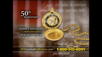 John F. Kennedy Commemorative Watch TV Spot - Thumbnail 4