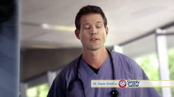 Simply Saline TV Spot, 'Sleep' Featuring Dr. Travis Stork - Thumbnail 1