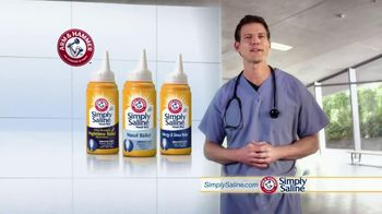 Simply Saline TV Spot, 'Sleep' Featuring Dr. Travis Stork - Thumbnail 7
