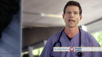 Simply Saline TV Spot, 'Sleep' Featuring Dr. Travis Stork - Thumbnail 2