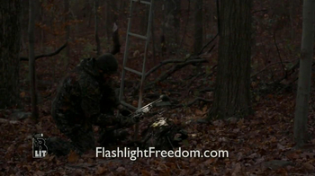 Flashlight Freedom B Lit TV Spot - Thumbnail 4
