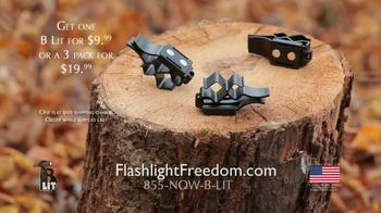 Flashlight Freedom B Lit TV Spot - Thumbnail 9