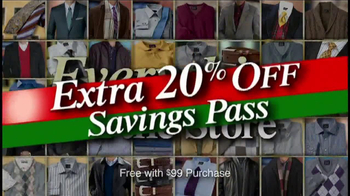 JoS. A. Bank TV Spot, 'December 2013 Weekend Sale'