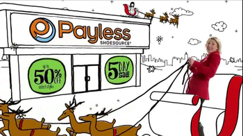 Payless Shoe Source 5-Day Sale TV Spot - 1051 commercial airings
