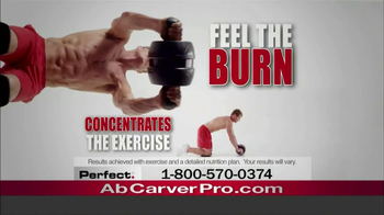 Perfect. Ab Carver Pro TV Spot, 'Lean, Flat, Stomach' - Thumbnail 2