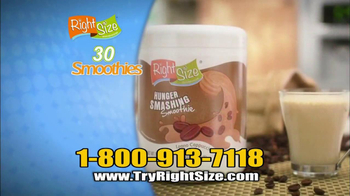 Right Size Health & Nutrition TV Spot, 'Testimonials'